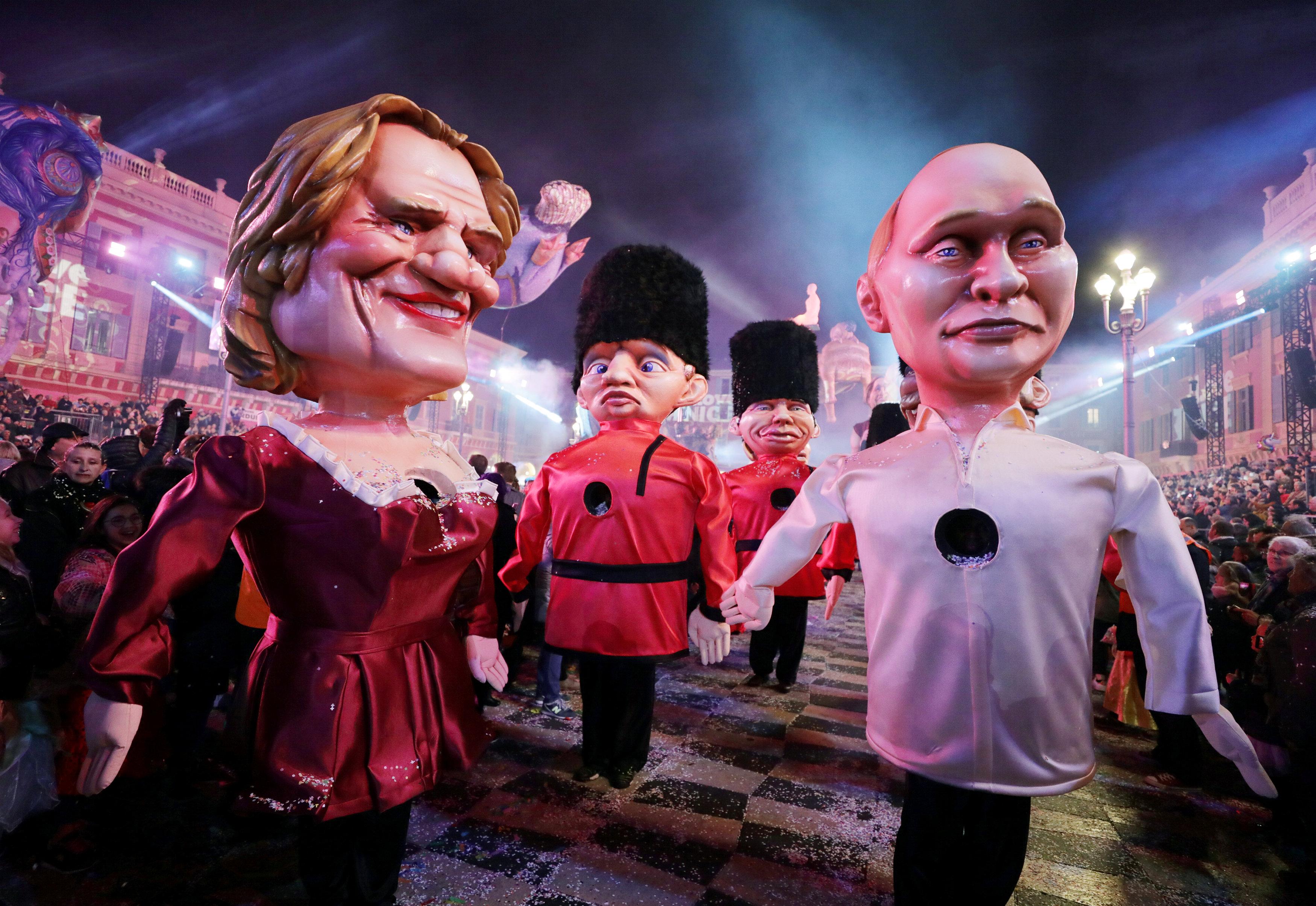 بوتين والممثل الفرنسي جيرار دوبارديو (2)