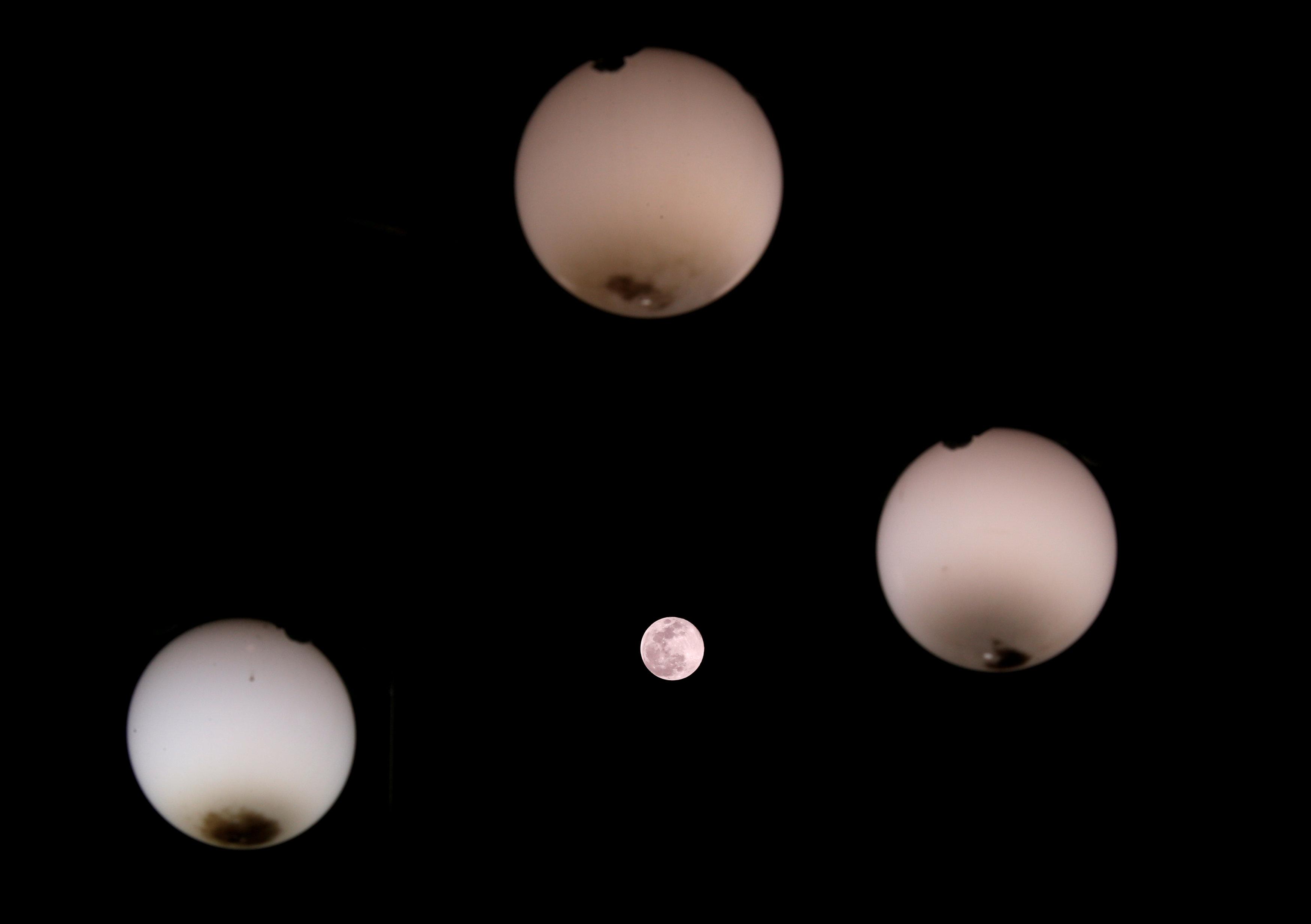 القمر العملاق فى مالطا