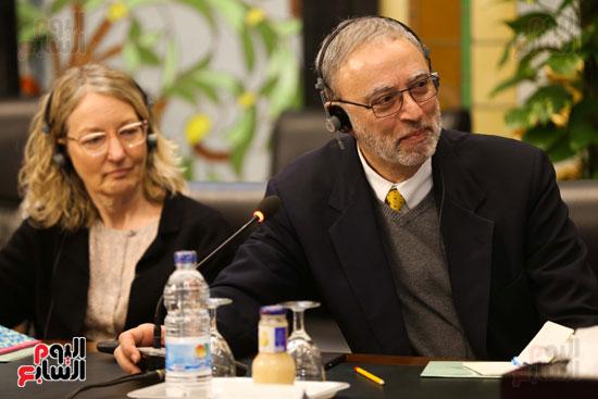 وكيل النواب يستقبل اعضاء الحوار المصرى الأمريكى بمقر البرلمان   (13)