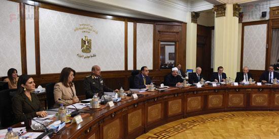 اجتماع الحكومه الاسبوعى (16)