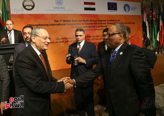 مؤتمر تعزيز التعاون الدولى فى مواجهة الإرهاب (7)