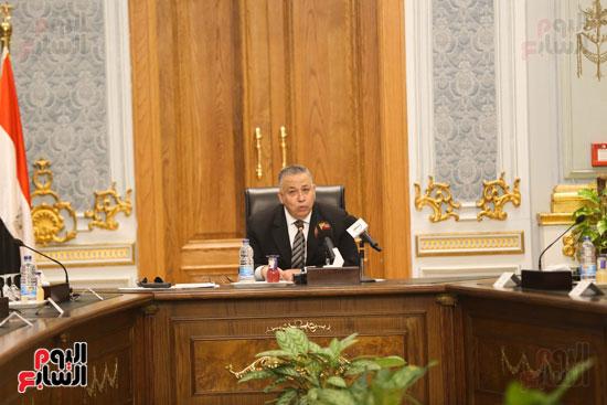 وكيل النواب يستقبل اعضاء الحوار المصرى الأمريكى بمقر البرلمان   (6)