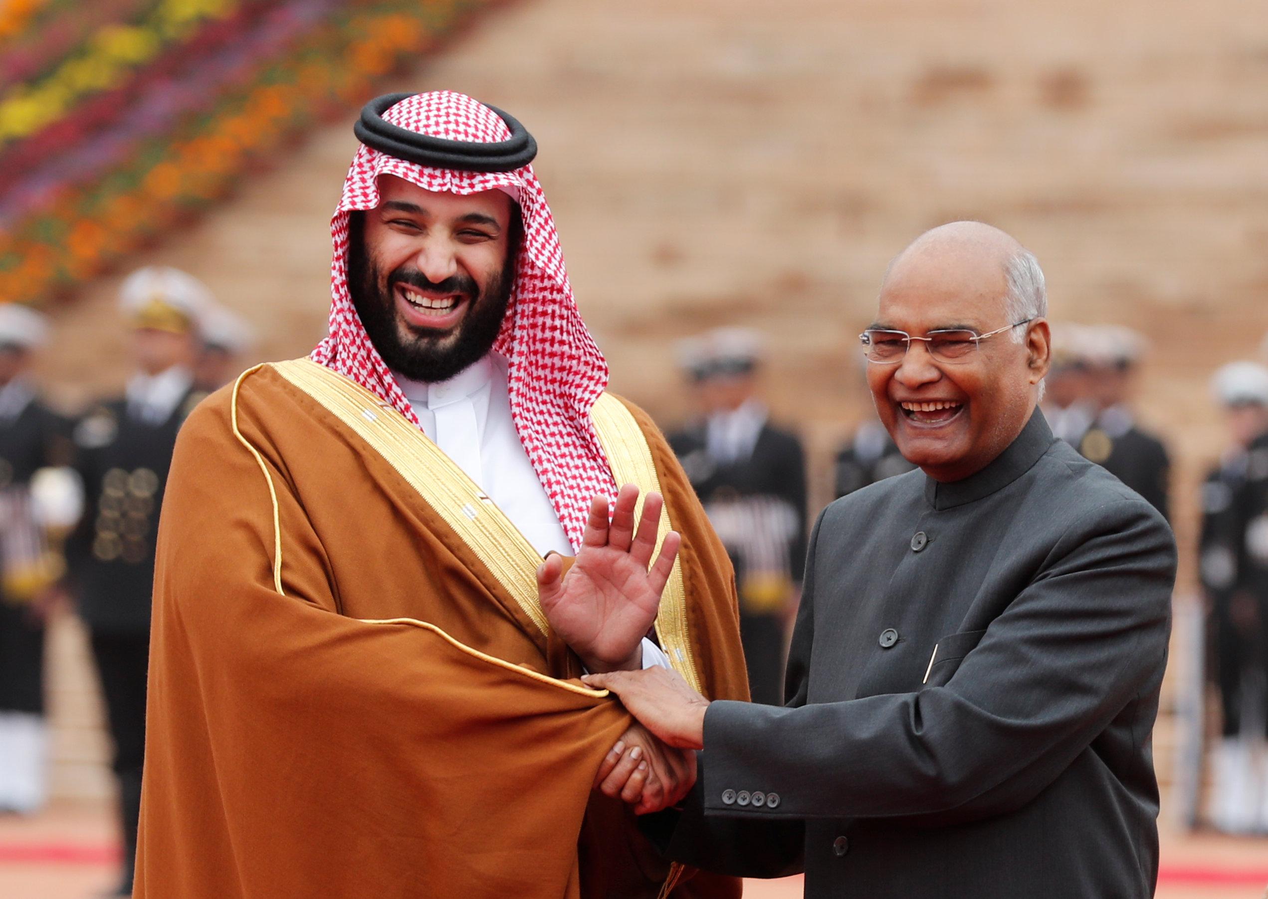 ولى العهد ورئيس الهند
