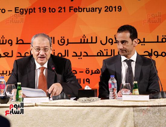 جلسة الإطار القانونى لمكافحة تمويل الإرهاب وغسل الأموال (14)