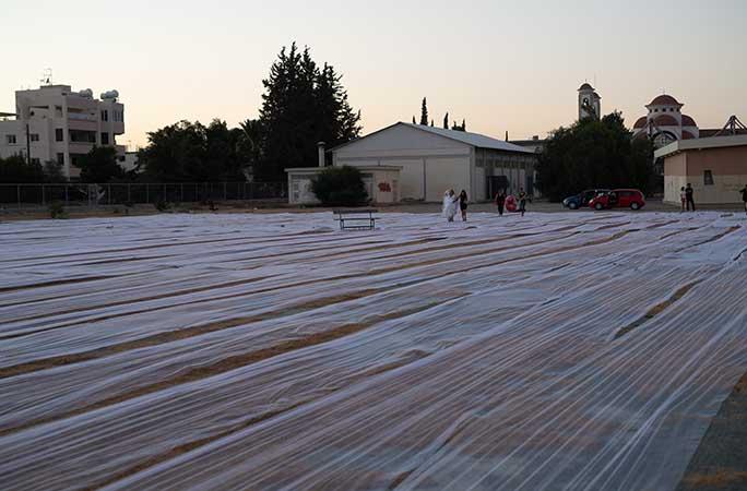أطول طرحة زفاف بما يقرب 7 ألاف متر