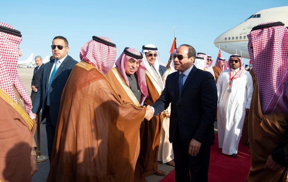 السيسى يستقبل الملك سلمان (7)