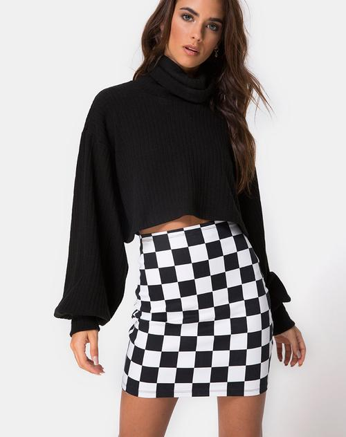 SAFFY-SKIRT--AND-VILLY-TOP-CHECKERBOARD-WHITE-BLACK73312_500x