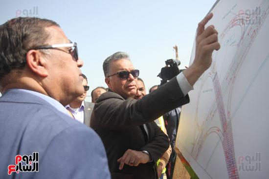 جولة وزير النقل لاشارات مغاغة (5)