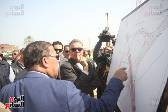 جولة وزير النقل لاشارات مغاغة (3)