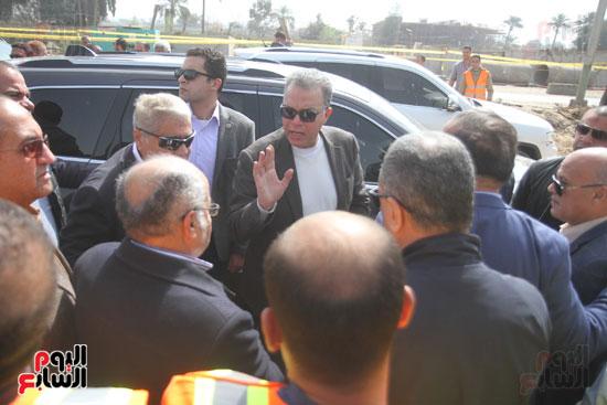 جولة وزير النقل لاشارات مغاغة (1)