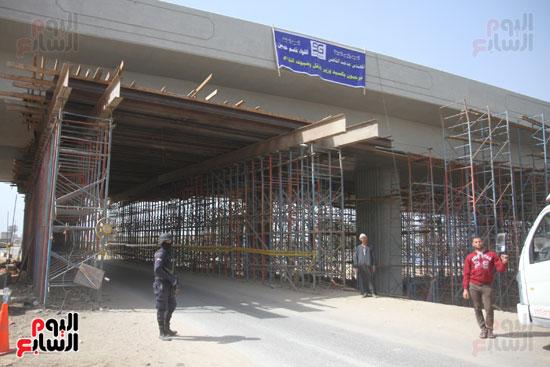جولة وزير النقل لاشارات مغاغة (7)