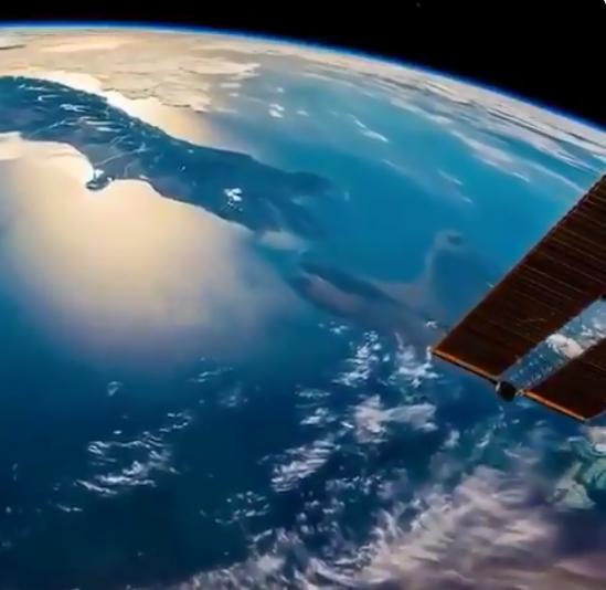 كوكب الأرض من المحطة الدولية