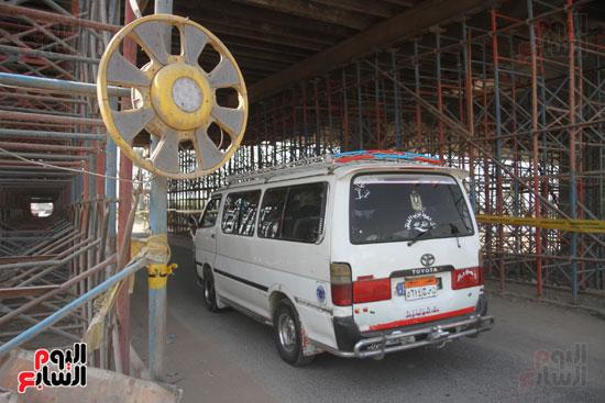 جولة وزير النقل لاشارات مغاغة (14)