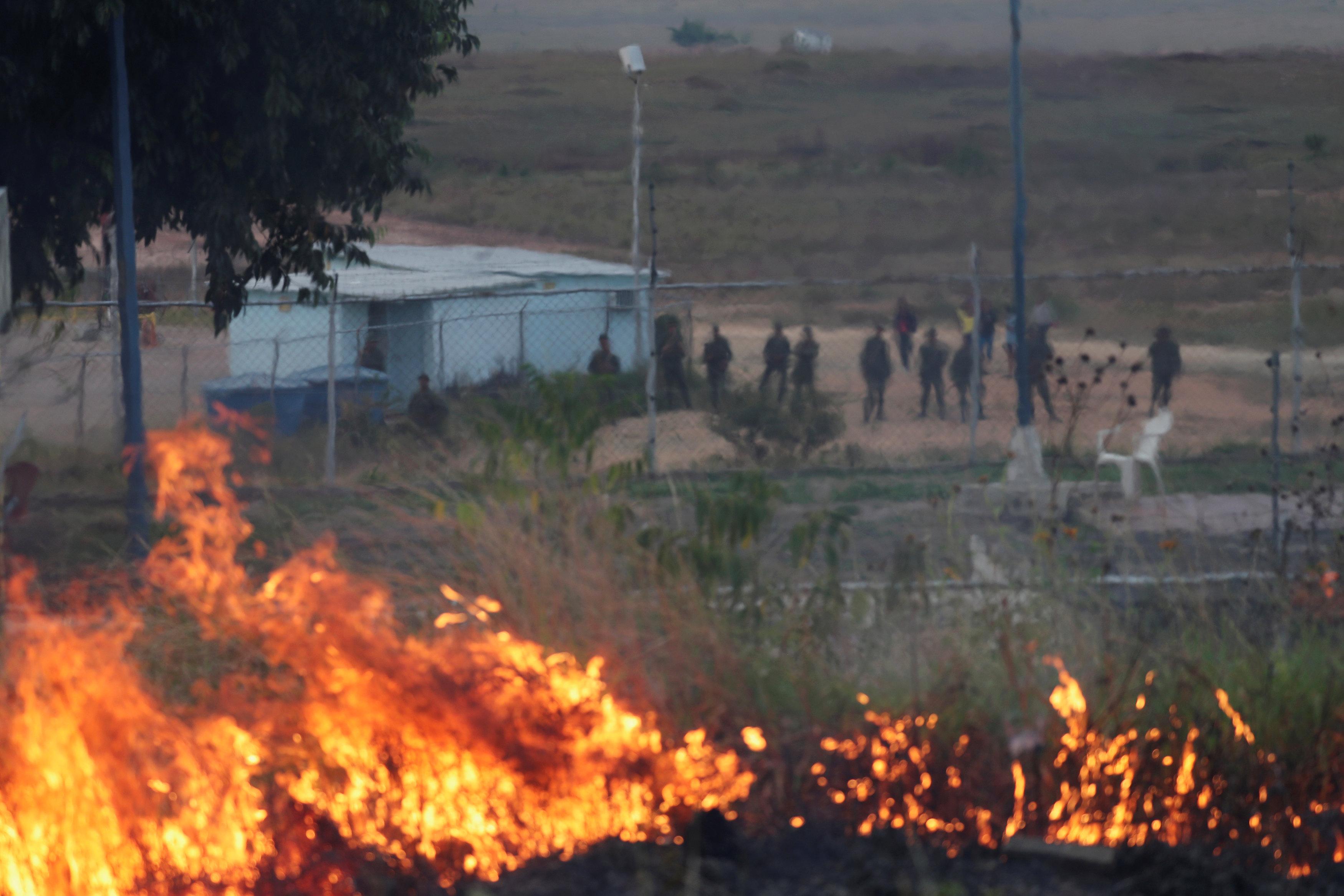 جانب من العنف فى فنزويلا (19)