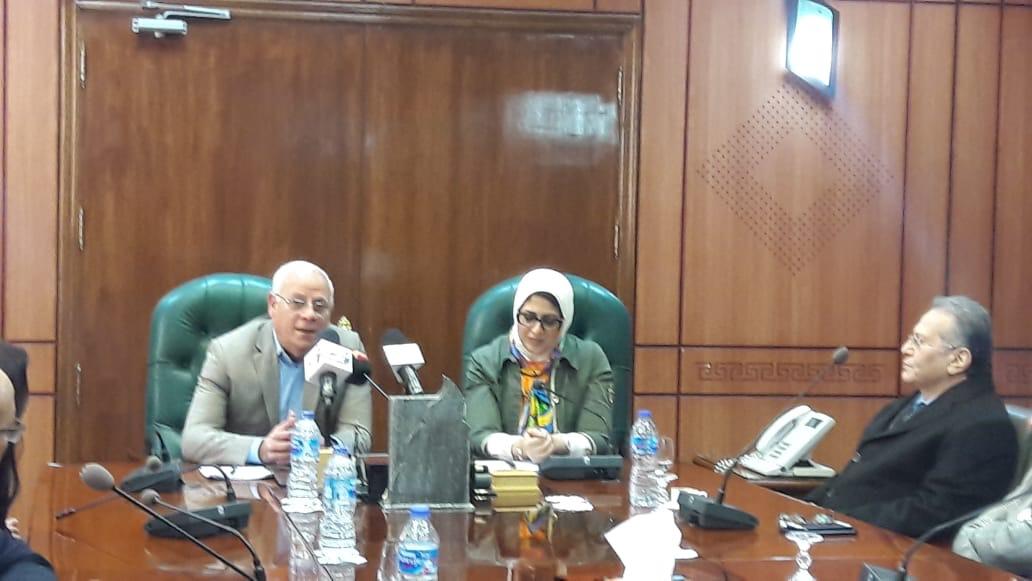 الدكتورة هالة زايد، وزيرة الصحة والسكان (1)