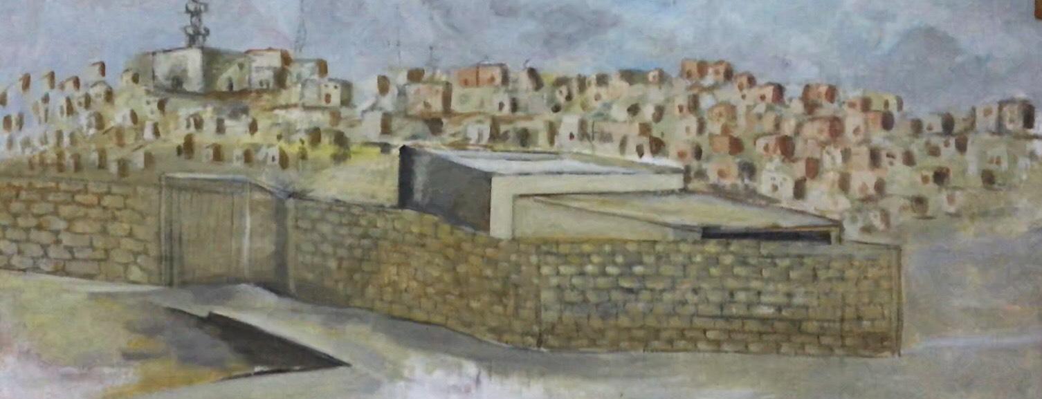 فنان تشكيلى يجسد تاريخ سيناء بالرسوم (1)