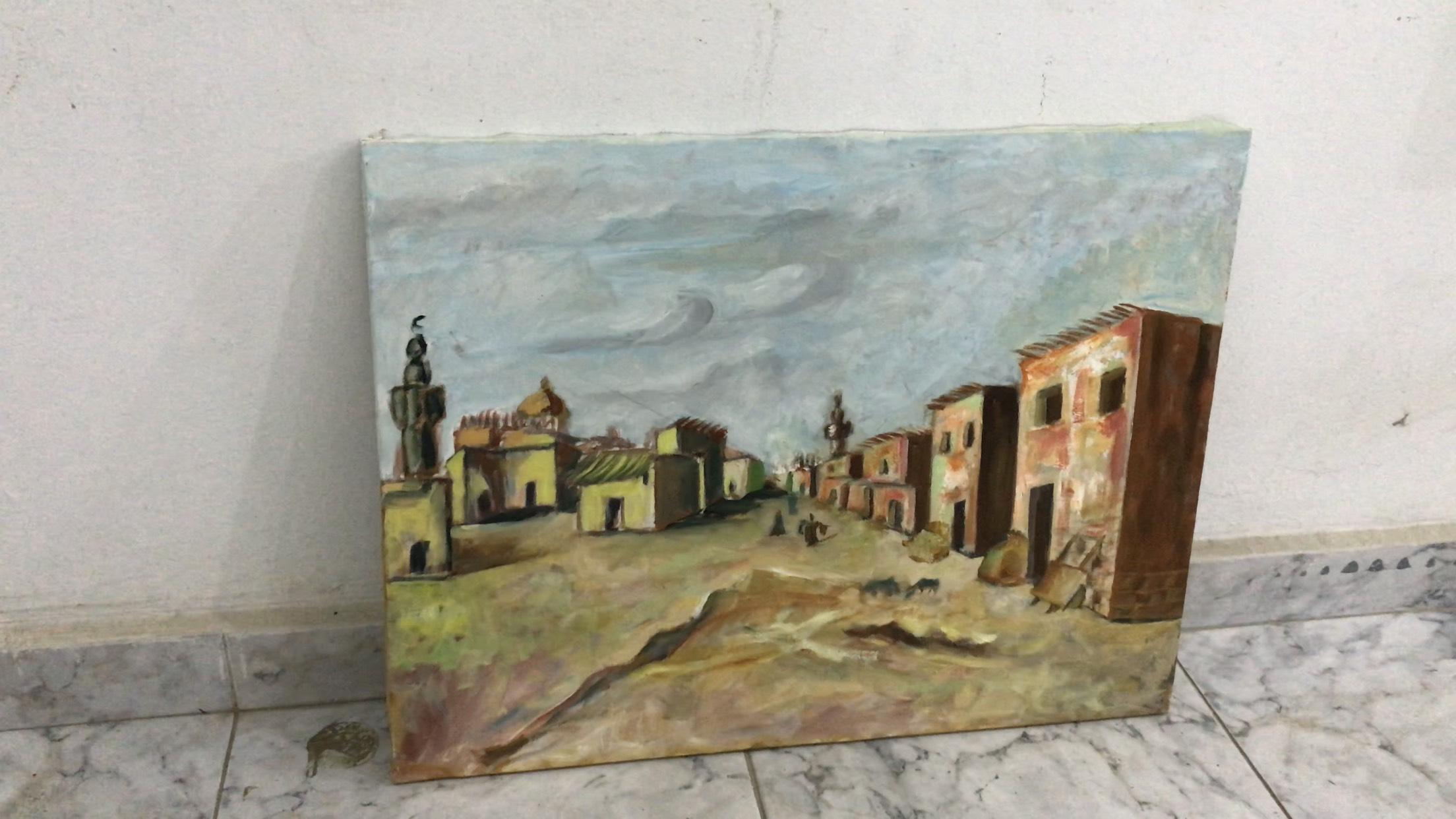 فنان تشكيلى يجسد تاريخ سيناء بالرسوم (8)