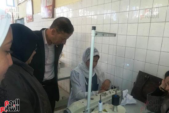 المدارس الصناعية بنات بكفر الشيخ (19)