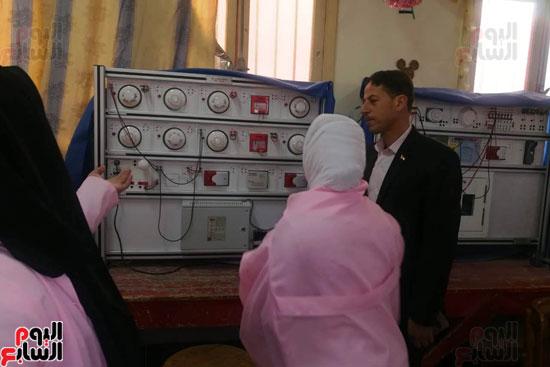 المدارس الصناعية بنات بكفر الشيخ (18)
