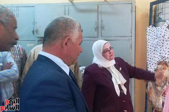 المدارس الصناعية بنات بكفر الشيخ (1)