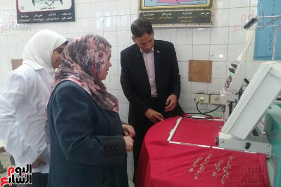 المدارس الصناعية بنات بكفر الشيخ (14)