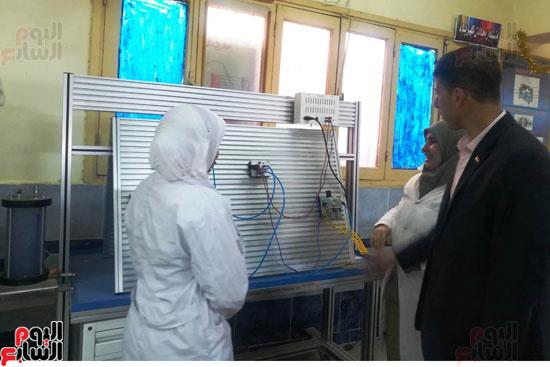 المدارس الصناعية بنات بكفر الشيخ (23)