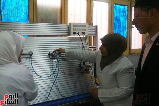 المدارس الصناعية بنات بكفر الشيخ (25)