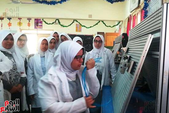 المدارس الصناعية بنات بكفر الشيخ (7)