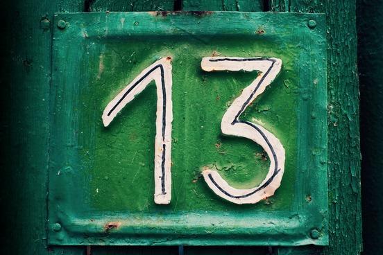 فوبيا الرقم 13