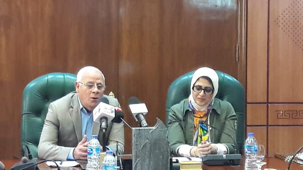 الدكتورة هالة زايد، وزيرة الصحة والسكان (3)