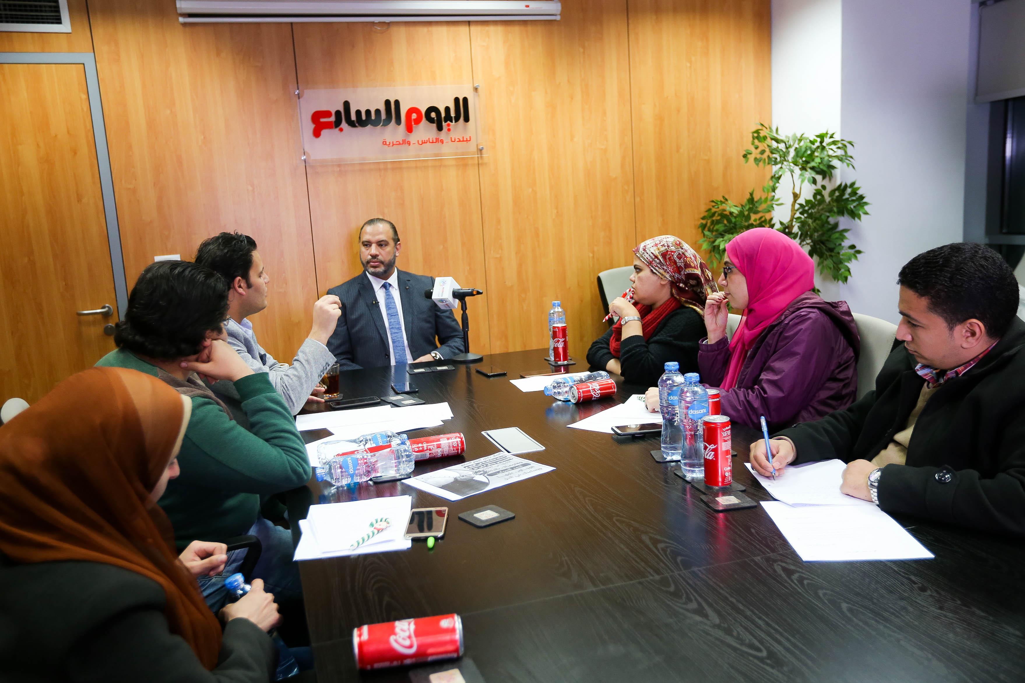 ندوة اليوم السابع الطبية مع الدكتور أحمد السبكى
