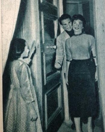 مشهد تمثيلى بين شادية والعندليب