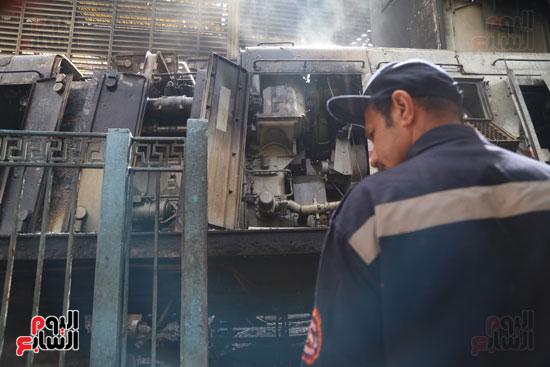بالصور القصة الكاملة لأسباب حادث حريق محطة مصر 47079-حريق-مح�