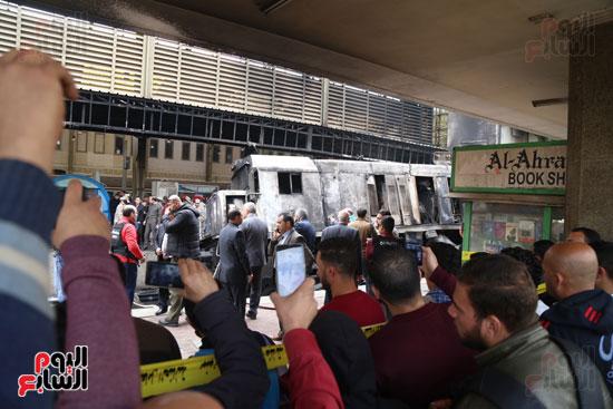 بالصور القصة الكاملة لأسباب حادث حريق محطة مصر 57499-حريق-مح�