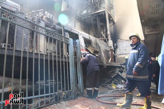 بالصور القصة الكاملة لأسباب حادث حريق محطة مصر 61089-حريق-مح�