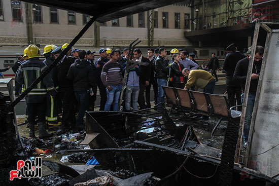بالصور القصة الكاملة لأسباب حادث حريق محطة مصر 66229-حريق-مح�