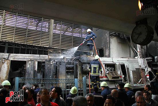 بالصور القصة الكاملة لأسباب حادث حريق محطة مصر 71197-حريق-مح�