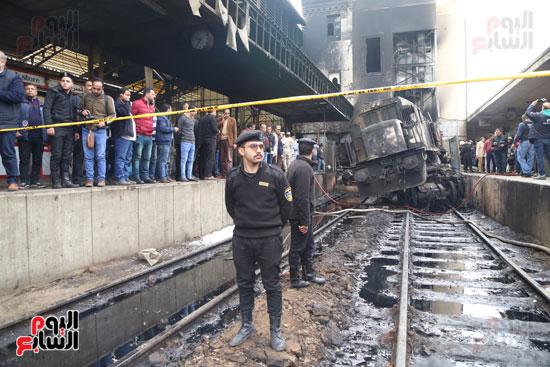 بالصور القصة الكاملة لأسباب حادث حريق محطة مصر 71417-حريق-مح�
