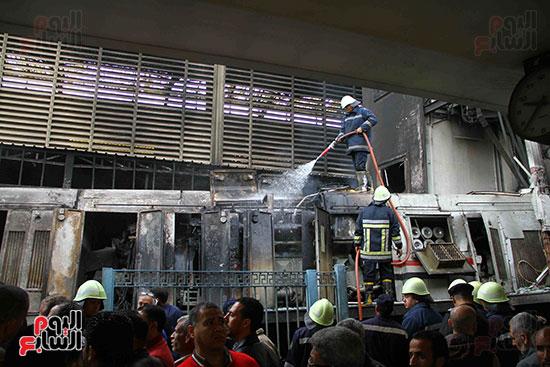 بالصور القصة الكاملة لأسباب حادث حريق محطة مصر 72007-حريق-مح�