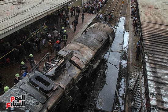 بالصور القصة الكاملة لأسباب حادث حريق محطة مصر 74190-حريق-مح�