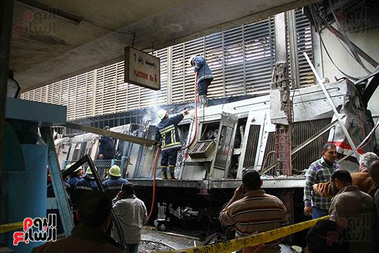 بالصور القصة الكاملة لأسباب حادث حريق محطة مصر 79099-حريق-مح�
