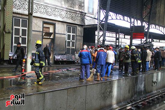 بالصور القصة الكاملة لأسباب حادث حريق محطة مصر 82107-حريق-مح�