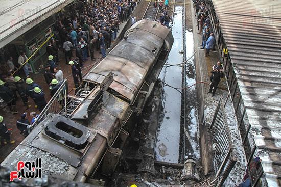 بالصور القصة الكاملة لأسباب حادث حريق محطة مصر 86114-حريق-مح�