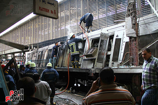 بالصور القصة الكاملة لأسباب حادث حريق محطة مصر 90546-حريق-مح�