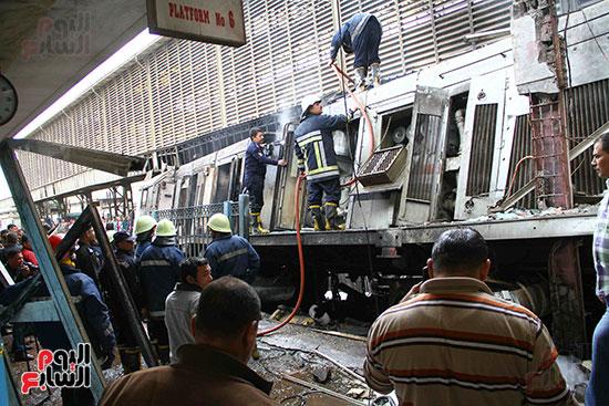بالصور القصة الكاملة لأسباب حادث حريق محطة مصر 92803-حريق-مح�