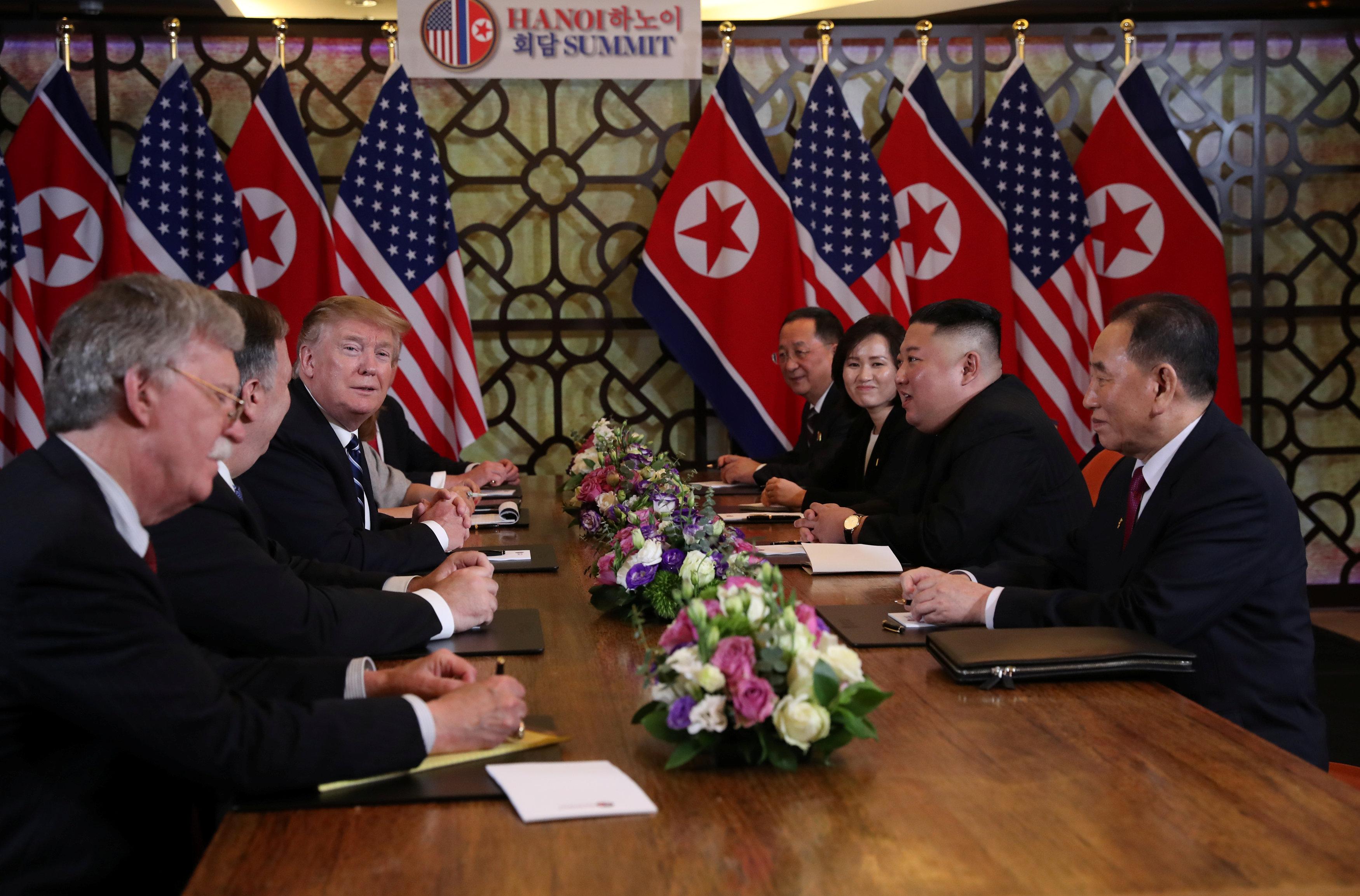 مباحثات أمريكا وكوريا الشمالية