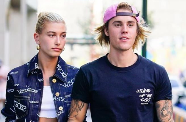 Justin Bieber and Halle Baldwin