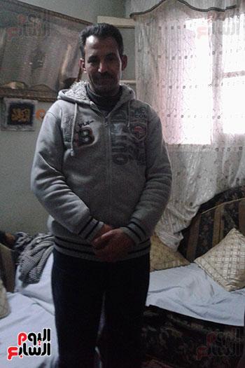 صور.. اليوم السابع داخل منزل منقذ مصابى حادث محطة مصر (4)