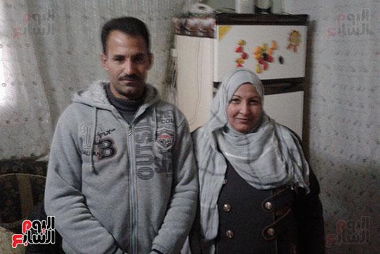 صور.. اليوم السابع داخل منزل منقذ مصابى حادث محطة مصر (8)