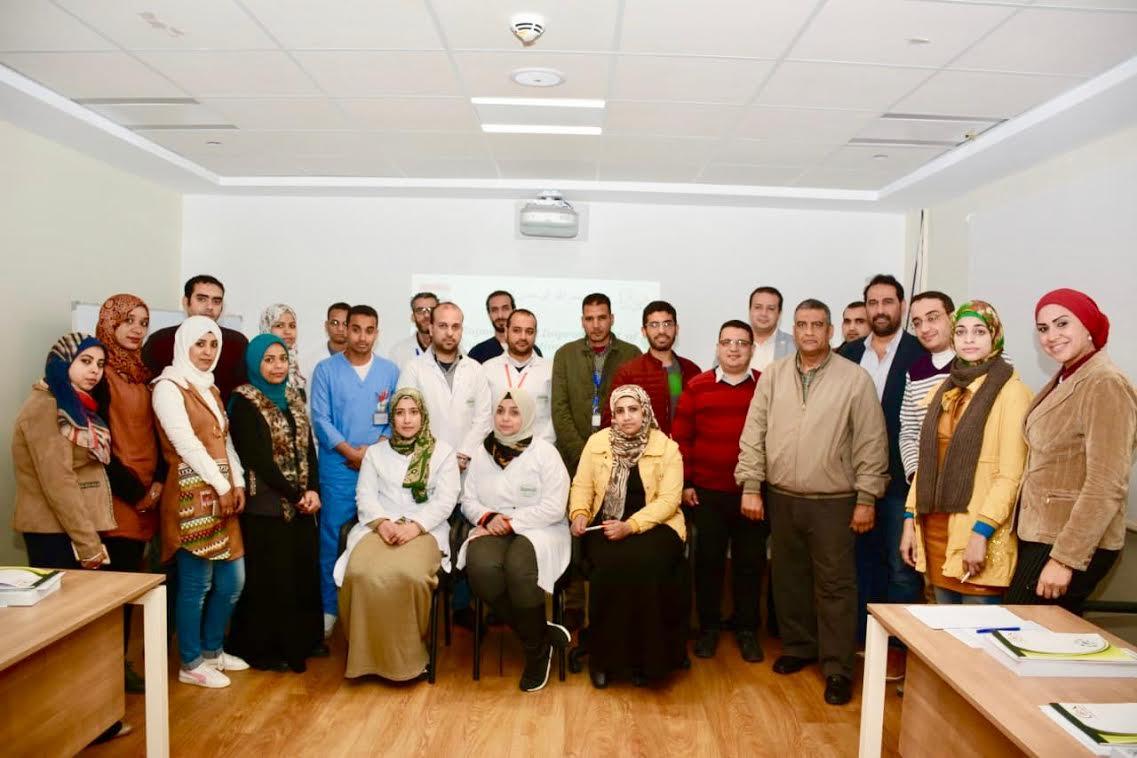 برنامج تدريبي توعوي للعاملين في مستشفى علاج السرطان (1)